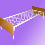Кровати металлические для больниц с спинками ДСП, Ижевск